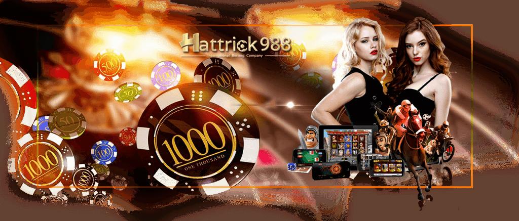 3 เว็บคาสิโนออนไลน์ HATTRICK 988